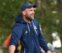 Highlanders scrum coach Clarke Dermody. PHOTO: PETER MCINTOSH