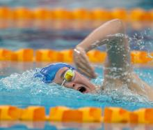 Dunedin swimmer Erika Fairweather eclipses a 43-year-old New Zealand record at the national age...
