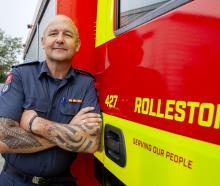 Rolleston chief fire officer Cam Kenyon has been volunteer firefighting for 31 years. Photo:...
