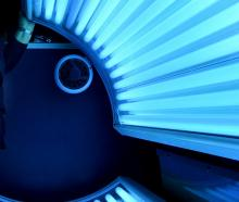 Australia banned commercial sunbed services in 2017. Photo: Stephen Jaquiery
