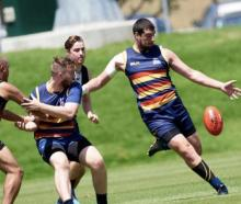 Lincoln rugby player Kris Wilder is playing in the New Zealand AFL competition for the Western...