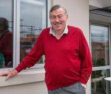 PASSIONATE: Lincoln Rugby Football Club patron Gavin Barclay, 80, is eager to get back to...