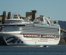 The Ruby Princess returned to Australia after a New Zealand trip that included stops in Dunedin...