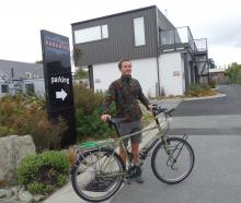 Paul  Coleman, of England, was nearing the end of a two-year, round-the-world cycling tour when...