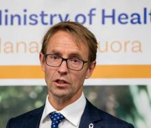 Director-General of Health Dr Ashley Bloomfield. Photo: Mark Mitchell