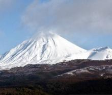 Mount Tongariro photographed in July 2016. Photo: NZ Herald