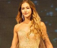 Former Miss Universe NZ finalist Amber-Lee Friis. Photo: Facebook