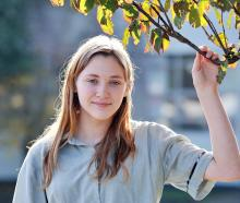 Dunedin actor Ruby Walton (14) who will appear in a short film. PHOTO: CHRISTINE O'CONNOR