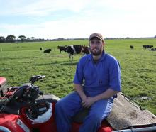 Josh Cochrane, of Ryal Bush, is enthusiastic about dairying, cows and being as good a boss as...
