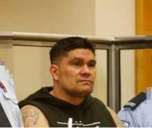 Brownie Harding in the High Court at Whangarei during his sentencing in 2017. Photo: NZ Herald