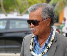 Cook Islands Prime Minister Henry Puna. Photo: RNZ / Jamie Tahana