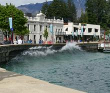 Lake Wakatipu is getting close to its ''high'' alert threshold, and more rain is forecast over...