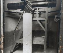 The telescope when it was operational at Dunedin's Beverly Begg Observatory. Photo: Supplied