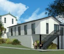 Artists' impressions of the new Ashburn Clinic wing. PHOTO: FELDSPAR