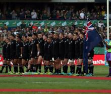 The All Blacks may play the Rugby Championship all at home this year. Photo: Getty Images