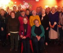Former students from the Ashburton High School class of 1960 at their reunion lunch at Formosa....