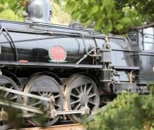The 1915 locomotive Passchendaele operates the tourism train Marlborough Flyer. Photo: Supplied /...