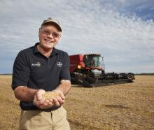 World-record holding Ashburton arable farmer Eric Watson. Photo: supplied.