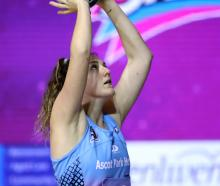 The Steel were without key goal shoot Jennifer O'Connell after her injury on Friday. Photo: Getty...