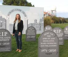Fight for fairness campaign co-ordinator Carla Forbes will set up a graveyard in Invercargill to...