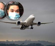 Desiraye Solomon and daughter Délia Brown were among those taken off an Air New Zealand flight in...