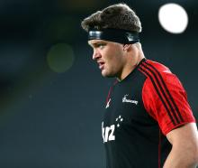 All Blacks lock Scott Barrett will captain the Crusaders in 2020. Photo: Getty