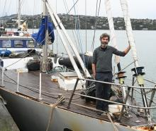 Captain Steve Kafka, of Dunedin, has returned to Dunedin after a seven-month voyage amid the...