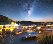 Tekapo Springs at night. PHOTO: TEKAPO SPRINGS