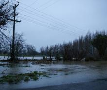 Flooding in Canterbury in 2017. The three waters funding focuses three areas - drinking water,...