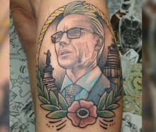 Dr Ashley Bloomfield has been immortalised in ink after a Kiwi woman decided to pay homage to the...