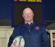 West Taieri prop Kent Duncan, who played his 150th game for the club last 