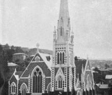 Knox Church, on the corner of Pitt and George Sts, Dunedin, on the occasion of 