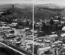 Lawrence, county town of Tuapeka, Otago. — Otago Witness, 7.9.1920.