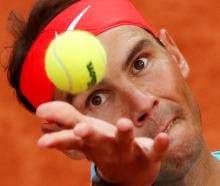 Rafael Nadal is eyeing his 13th French Open title. Photo: Reuters