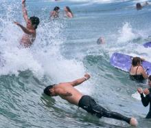 A weak La Nina system and a marine heatwave helped fire the record hot summer of 2017-18. Photo:...
