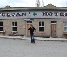 Royce Clark has taken the reins at St Bathans' landmark Vulcan Hotel this week ending a month...