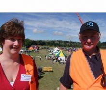 Farmarama secretary Karen Robertson and convener David Robertson are pleased with the turnout for...