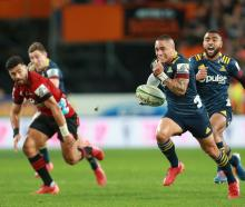 The Highlanders will be back to take on the Crusaders in Super Rugby Aotearoa next year. Photo:...