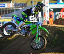 Courtney Duncan, of Dunedin, in action in her win in the MXGP of Citta di Mantova in Italy last...