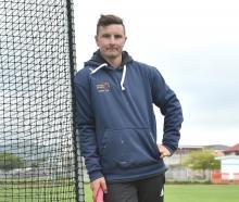 Carisbrook-Dunedin/Kaikorai captain Jeremy Smith relaxes Before practice at Tonga Park on...