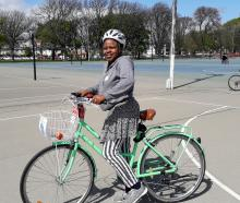 Justina took part in the Biketober Learn 2 Ride sessions last year for former refugee and migrant...