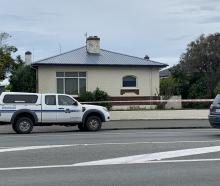 A property near the intersection of Tay and Bamborough Sts is being investigated by police...