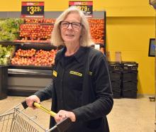 Willi van Horik is retiring from Pak'nSave after 41 years in the aisles. PHOTO: LINDA ROBERTSON