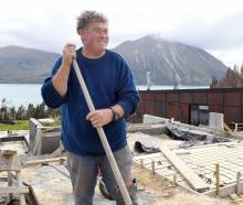 Omarama builder Bill Adams is determined to work towards rebuilding Lake Ohau. PHOTOS: STEPHEN...