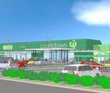 Artist's impression of a proposed supermarket in Alexandra. GRAPHIC: COUNTDOWN
