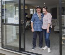Barry and Karen Rowe, of Dunedin, bought the student-built Otago Polytechnic charity house....