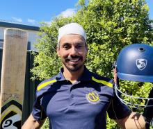 Amrit Gossal and the tools of his trade which had a busy weekend. PHOTO: SUPPLIED