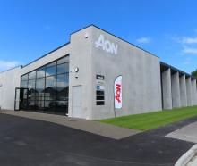 The new office complex, Aon House, has just opened in Ashburton. Photo: Ashburton Courier