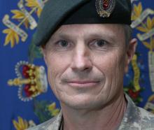Dunedin-based Warrant Officer Class Two Sean Cassidy is 2020 Defence Force Reservist of the Year....