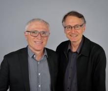 Professor Michael Baker (left), Professor Nick Wilson and a third colleague say Kiwis should wear...